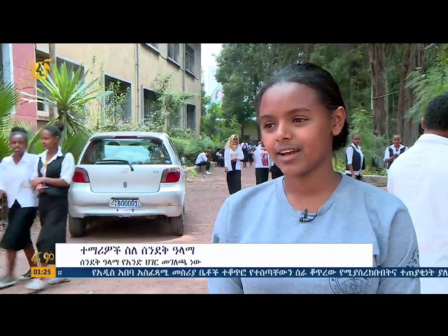 Fana Television | Students About The Flag