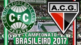 Coritiba 4 x 1 Atlético Goianiense (15/05/2017) Campeonato Brasileiro 2017 - 1° Rodada [PES 2017]