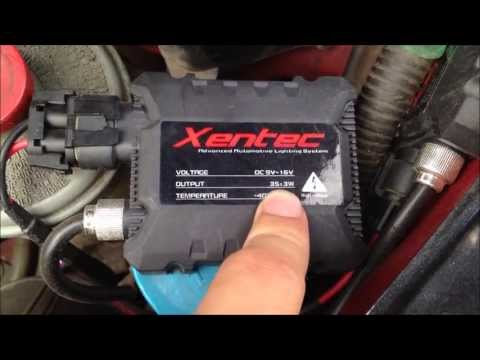 Xentec HID Pack Review 1    Ebay HID's Good?    Kit Comes With Chosen Color & Size Bulb    $30-50