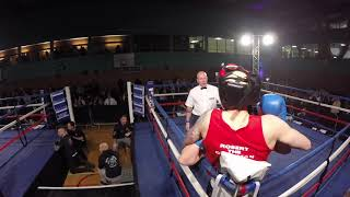 Ultra White Collar Boxing | Milton Keynes Ring 2 | Robert Escott VS Ben Taylor