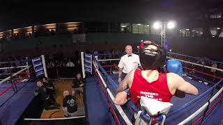 Ultra White Collar Boxing | Milton Keynes Ring 2 | Robert Escott VS Ben Taylor