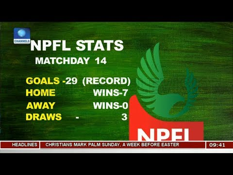 NPFL League Games Results As Parker Eyes Win Pt.1 |Sports This Morning|