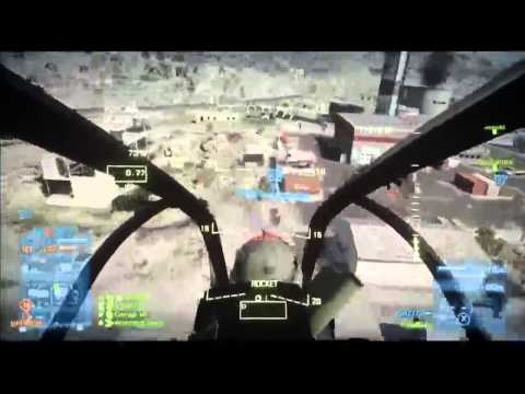 BF3 Commentary: Attack Chopper Conquest Gameplay (fly low!) by Fets25