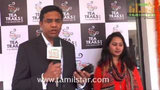 K S Ravi Kumar Inaugurates Tea Trails Shop