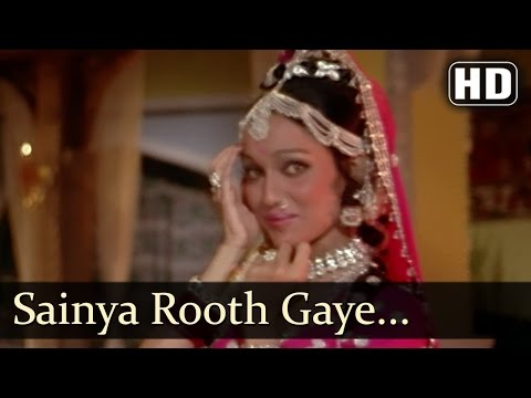 Sainya Rooth Gaye - Mujra - Asha Parekh - Main Tulsi Tere Aangan Ki - Bollywood Classic Songs video
