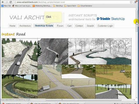 Instant Roof - Plugin for SketchUp.  Presented by NextWave Technology