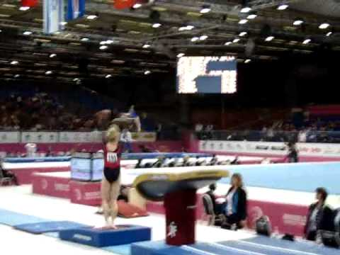 Sandra IZBASA ROU Senior Qualification, European Gymnastics Championships 2012 Vault 1