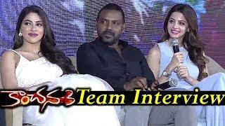 Kanchana 3 Team Interview | Raghava Lawrence, Vedhika | Latest Telugu Movie Trailers