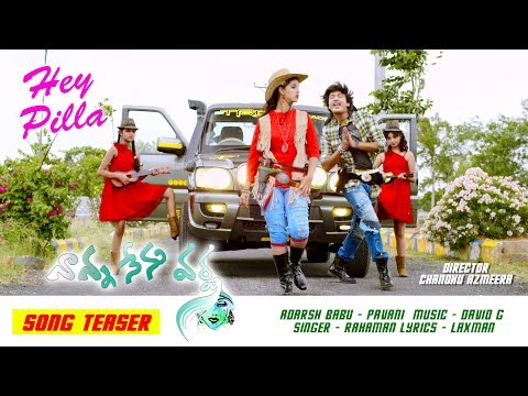 Hey Pilla Rassagulla Latest Song Teaser | Nanna Nenu Varsha Movie Official Song Teaser | NIVIStudio