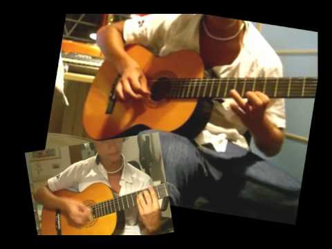2 the night - Ottmar Liebert guitar cover Spanish guitar