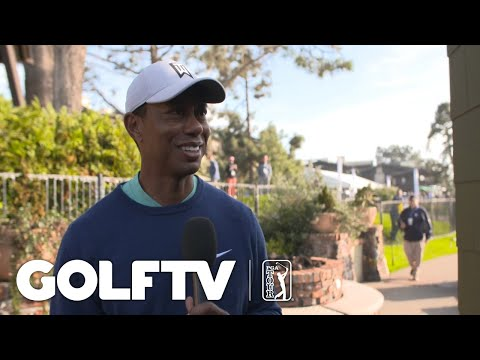 Tiger Woods discusses Round 3 of the Farmers Insurance Open