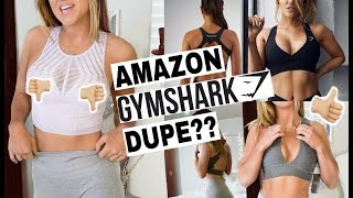 CHEAP Amazon Sports Bras Haul + Try On Review