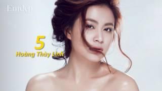 Top 10 mỹ nhân xinh đẹp nhất showbiz Việt - Ngắm đi ngắm lại không tìm ra góc chết