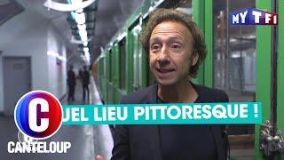 Stéphane Bern en excursion dans le métro parisien - C'est Canteloup du 20 novembre 2017