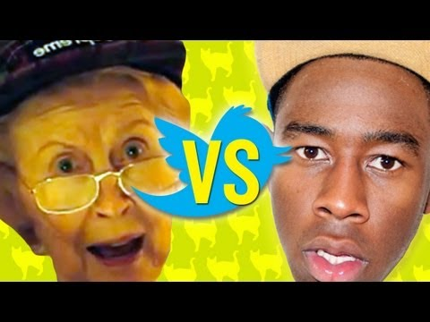 Grandma Reads Odd Future s Tweets - Boo Ya Pictures