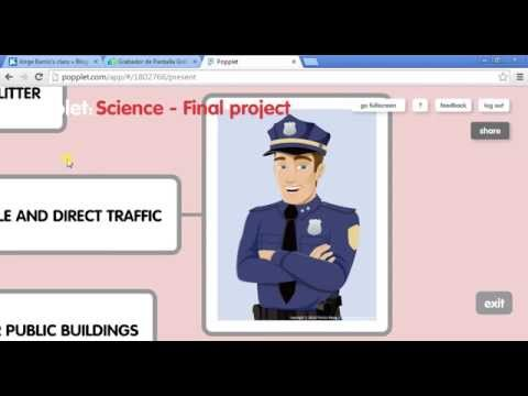 Jorge Barrio - Final project - Popplet Science