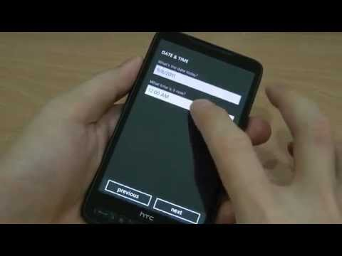 How to install Windows Phone 7 7004 on HTC HD2?