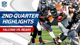 Falcons vs. Bears Second-Quarter Highlights | NFL Week 1