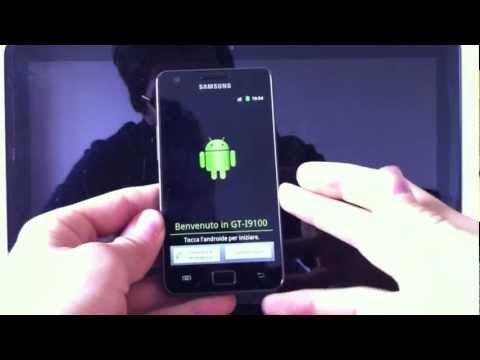 Modifica Samsung Galaxy S2 Cyanogenmod v7