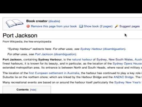 Making Wikipedia Books