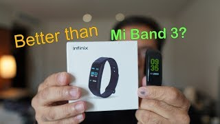 Infinix Xband 3 review is this better than the Mi band 3? Price Rs. 1,599