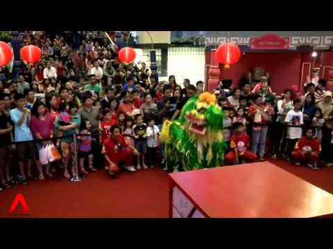 INDONESIA: Infusing Indonesian culture into lion dance