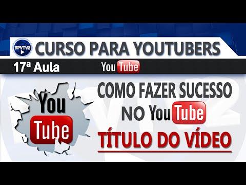 Como fazer sucesso no Youtube - Título do vídeo! #17 thumbnail