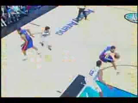Tayshaun Prince Game Winner vs. Orlando (5.10.08) Video