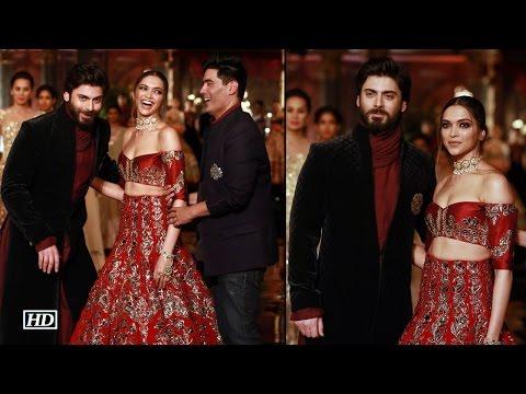 ICW 2016: Fawad, Deepika turn stunning muse for Manish Malhotra