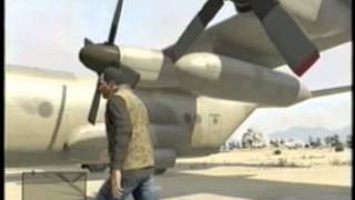 GTA 5 CHECKING OUT THE C 130 AIRPLANE