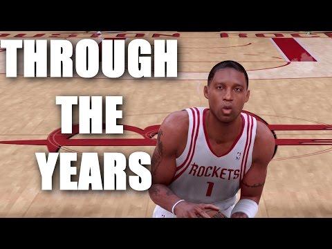 Tracy McGrady Through the Years - NBA Live 98 - NBA 2K13