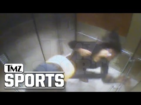 Ray Rice -- ELEVATOR KNOCKOUT ... Fiancee Takes Crushing Punch [Video]