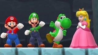 Super Mario Run - All Characters Vs. Bowser (Saving Peach)