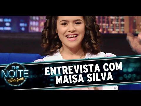 The Noite (10/10/14) - Entrevista com Maisa Silva