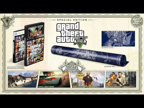 [GRAND THEFT AUTO 5 - BIG NEWS] - Special Edition, Collector's Edition & Mappa di Los Santos!!!