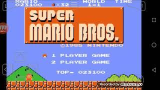 Primeiro vídeo de super Mario Bros!