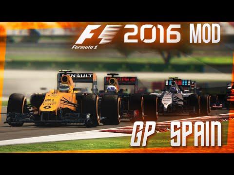 F1 2016 MOD | Modo Trayectoria GP España | Renault Sport F1 Team