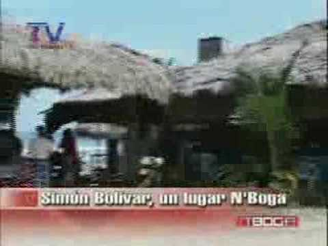 Simón Bolívar, un lugar N'Boga