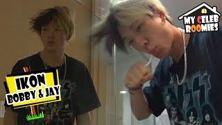[My Celeb Roomies - iKON] BOBBY Woke Up With Full Of SWAG