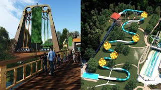NEW 2019 Attractions at Busch Gardens & Water Country USA