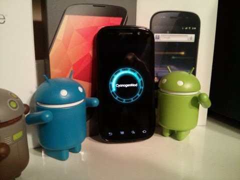 CyanogenMod 10.1 Review/Overview on Nexus S (GSM) (Android 4.2.2)