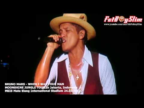 Bruno Mars - When I Was Your Man Live In Jakarta, Indonesia 2014 video