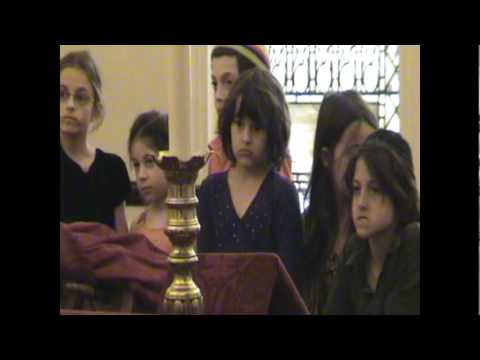 Tori's First Torah Reading - Beit Rabban (best if viewed in 480p)