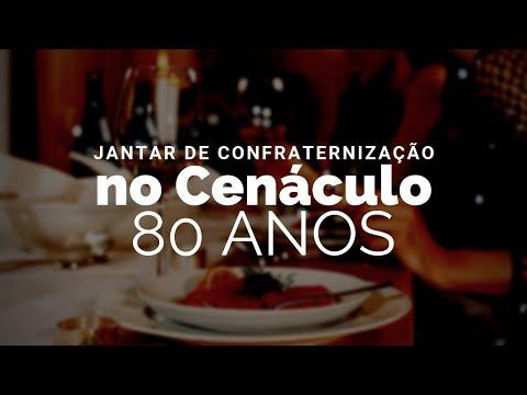 Jantar de confraternização dos 80 anos do no Cenáculo