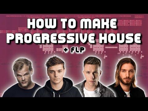 How to make festival progressive house bangers + FLP (AVICII, MARTIN GARRIX, NICKY ROMERO, ALESSO)