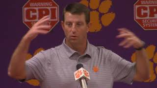 TigerNet: Swinney previews Virginia Tech, pt. 1