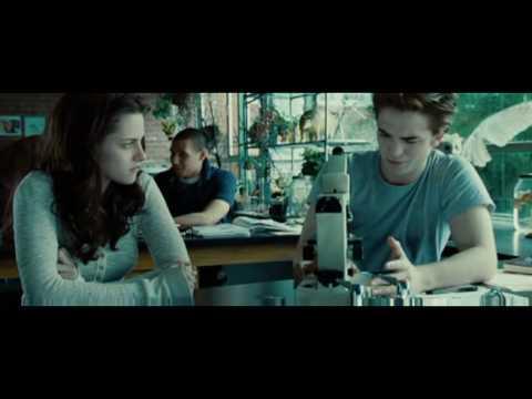 Twilight Biology Class Scene Edward's Golden Eyes