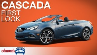 2016 Buick Cascada First Look | Detroit Auto Show