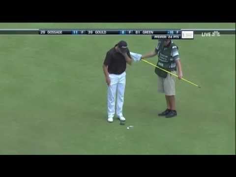 TJ Oshie Four Putt From 7 Feet