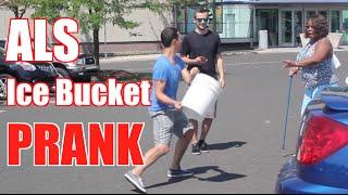 [ALS Prank - Ice Bucket Challenge on Strangers] Video